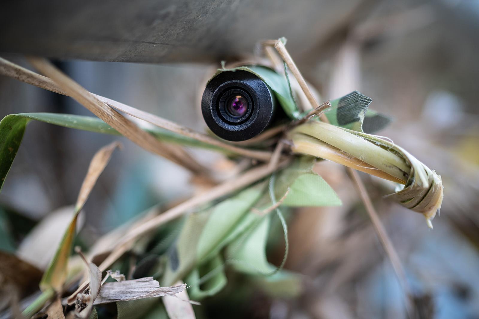 Ottica Mimetizzata e-Killer Dispositivo di videosorveglianza mobile antiabbandono rifiuti